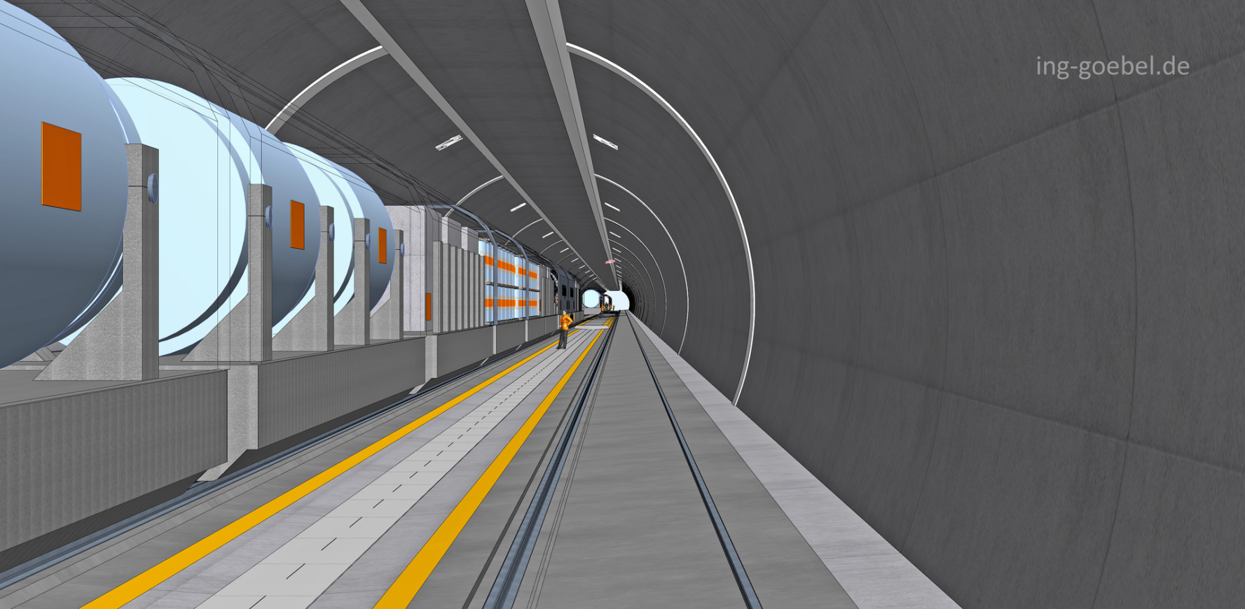 ART-TEL Endlager Tunnel Bundesgesellschaft für Endlagerung Peine BGE
