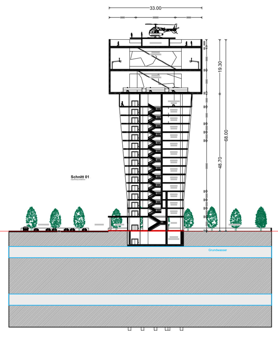 Schnitt BBZ Turm Vorschlag Ing. Goebel