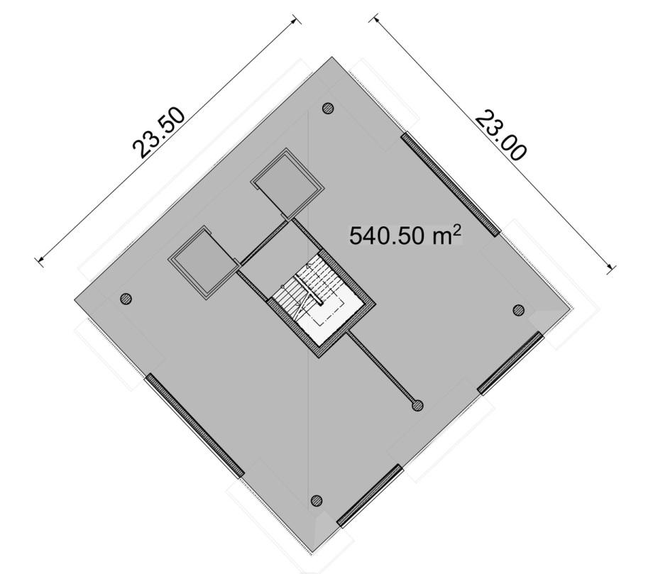 enges Normal-Geschoss im BBZ Turm Vorschlag
