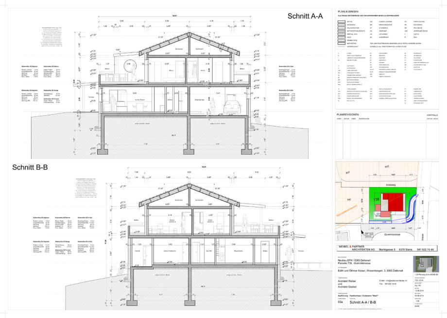 BIM Ausführungsplanung 1:50 Architekt Volker Goebel Dipl.-Ing.