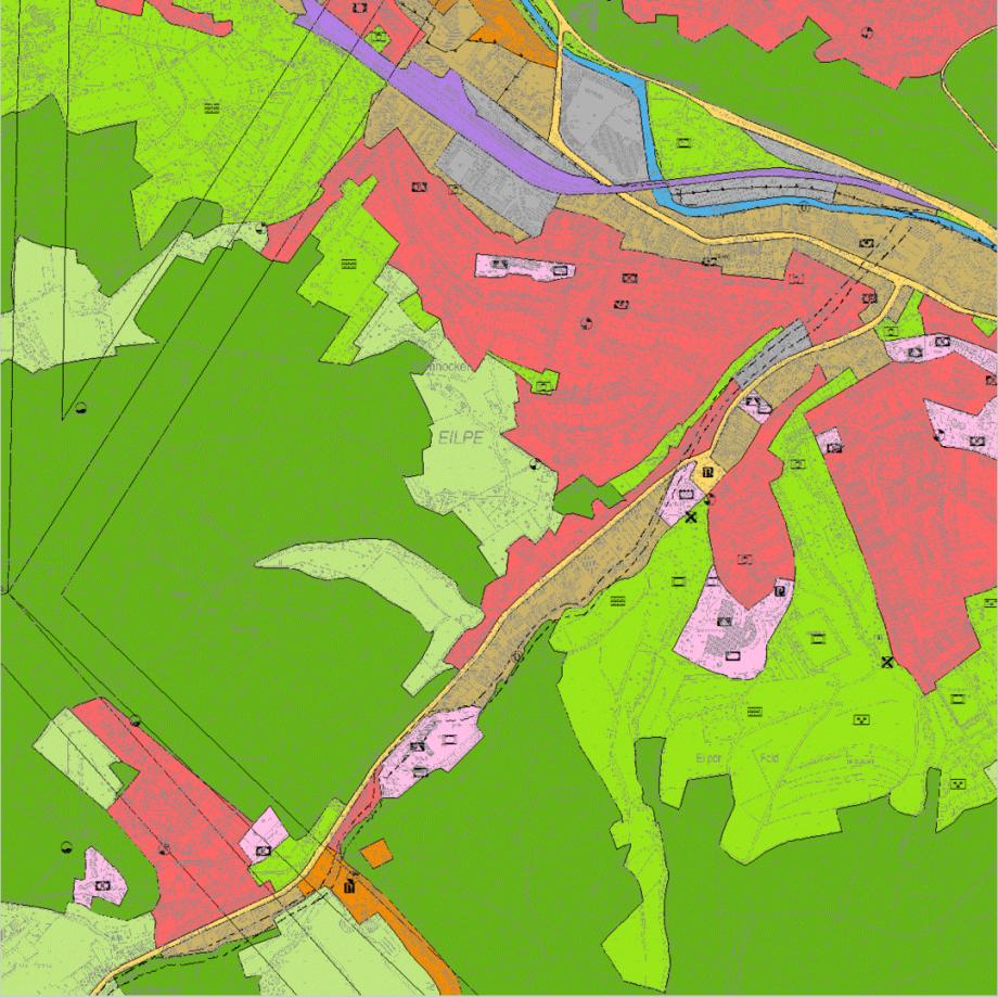Beispiel-Bild zum Flächen-Nutzungs-Plan Hagen