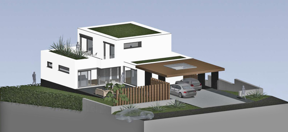 Bauzeichnungs Dienstleister - Volker Goebel / EFH / Stans - für und mit Architekturbüro Weibel Stans erarbeitet