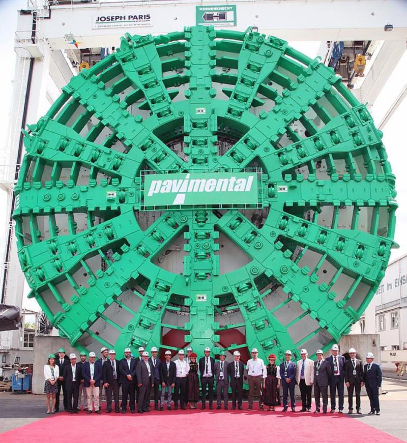 Stand der Tunnel-Bohr-Technik  2020