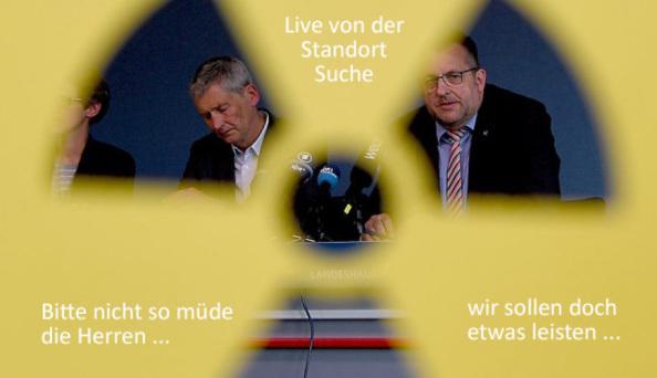 Fachkonferenz Teilgebiete Endlagger - König und Studt / BASE und BGE