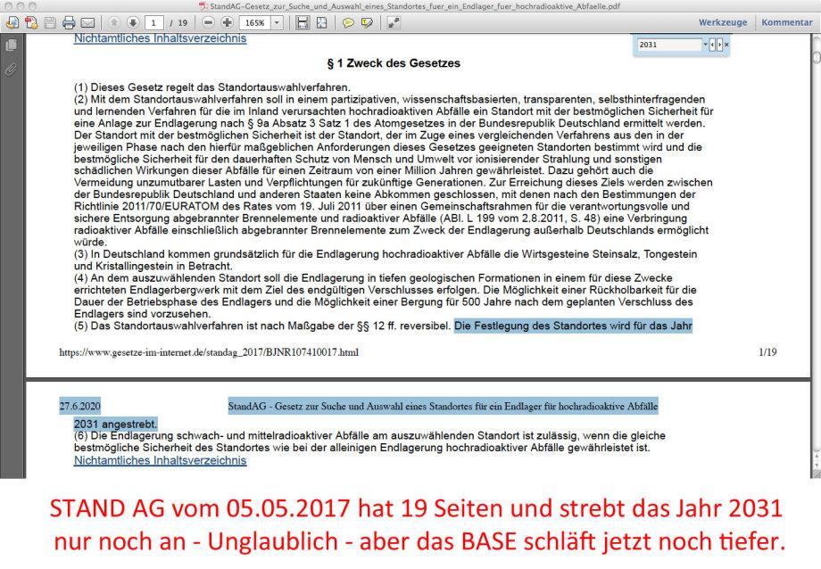 05.05.2017_StandAG-Gesetz_zur_Suche_und_Auswahl_eines_Standortes_fuer_ein_Endlager_fuer_hochradioaktive_Abfaelle