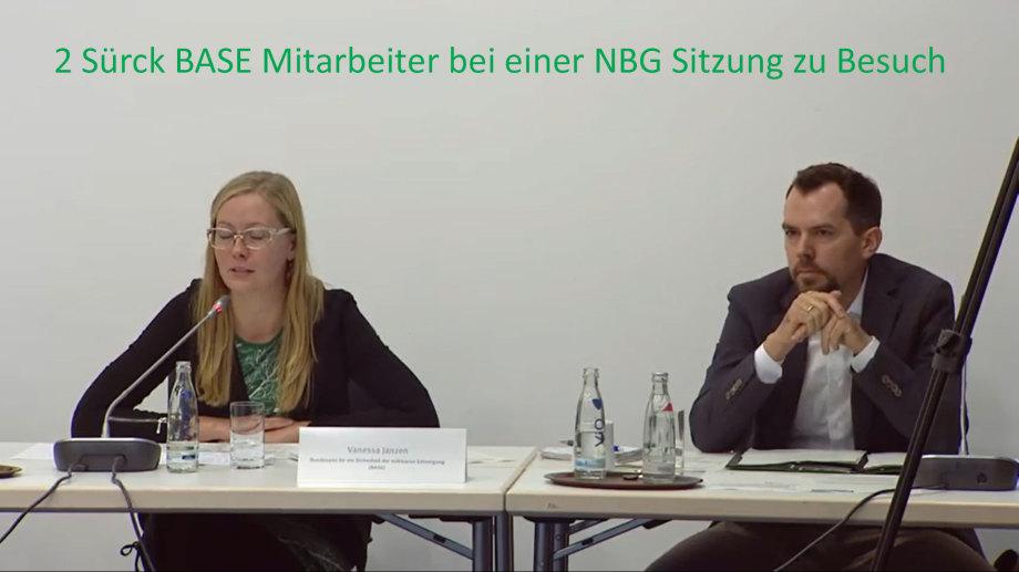 BASE Beteiligungs-Verhinderer Janzen und Schwöbel