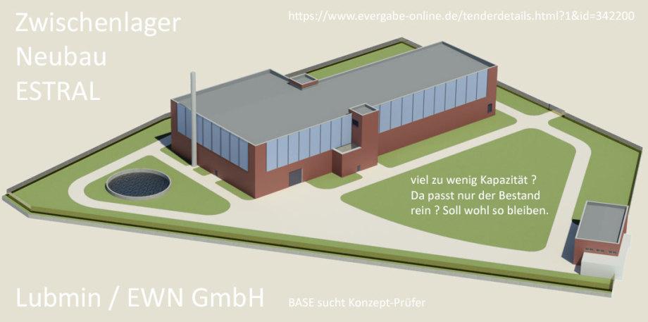 ESTRAL - ein noch unvollständiges aber hoffnungsvolles Zwischenlager-Konzept der EWN GmbH