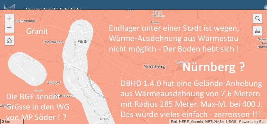 >>> Die Wärme-Ausdehnung verbietet HLW Endlager unter einer Stadt - DBHD 1.4 führt zu 7,6 Meter ! GOK Anhebung mit Radius 185 Meter - Peak nach 400 Jahren - #BGE #WärmeAusdehnung #keinEndlager #unterStadt https://lnkd.in/ddZFnDG