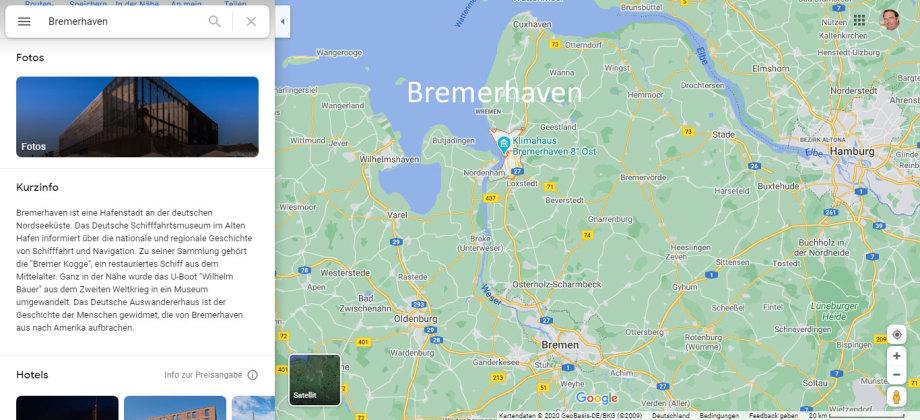 Bremerhaven - Stadt und Industrie-Revier - gehört zum Land Bremen