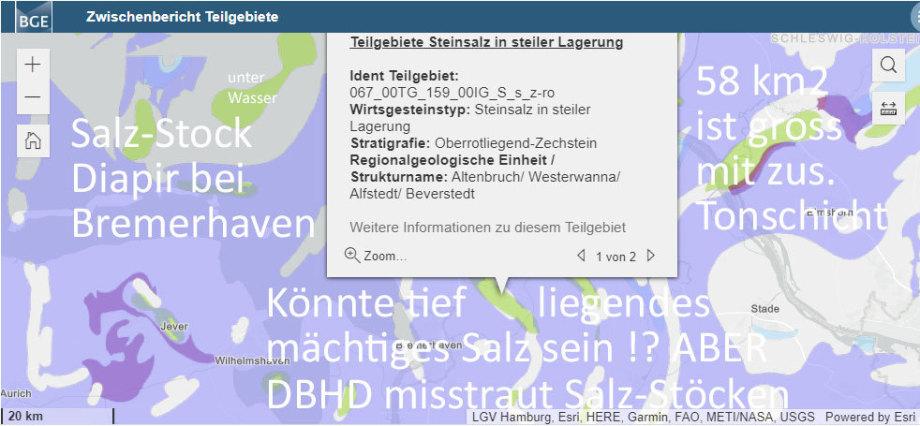 Grosser Steinsalz-Diapier nordöstlich von Bremerhaven