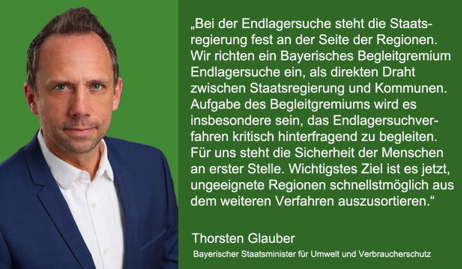 Ansage Minister Glauber Bayern - aussortieren beginnen fordert Min. Glauber zu Recht