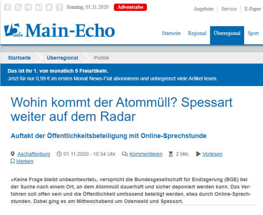 Spessart Odenwald - Redaktion Aschaffenburg