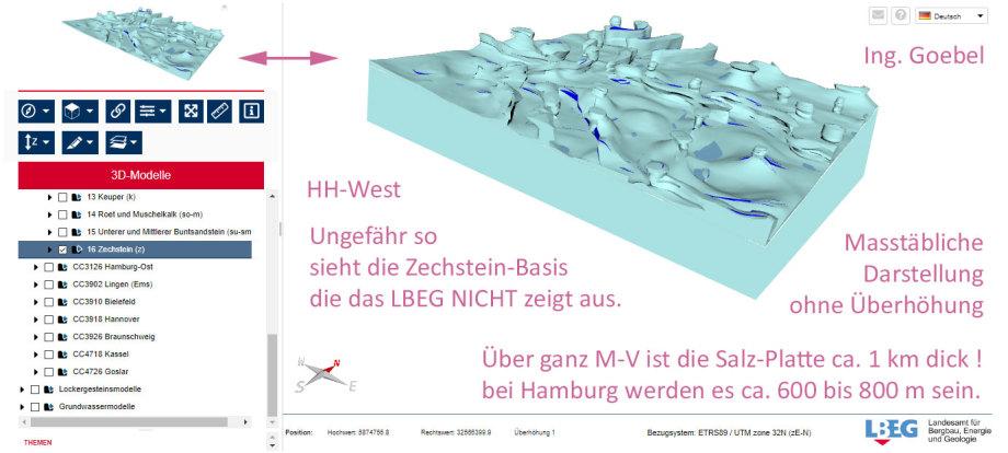 Das Daten-Modell LEAG NIBIS um die Salz-Basis-Platte ergänzt von Ing. Goebel