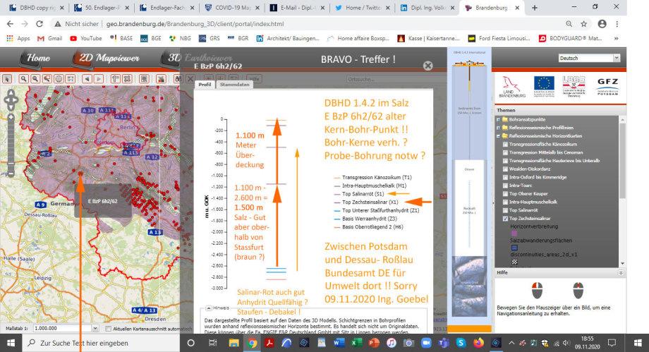 >>> Attention please : 1st DBHD 1.4.2 Location in Germany found - Between Potsdam and Dessau-Roßlau - Perfect salt geology - #StandortRegion #DessauRoßlau #Endlager #HLW #Rocksalt