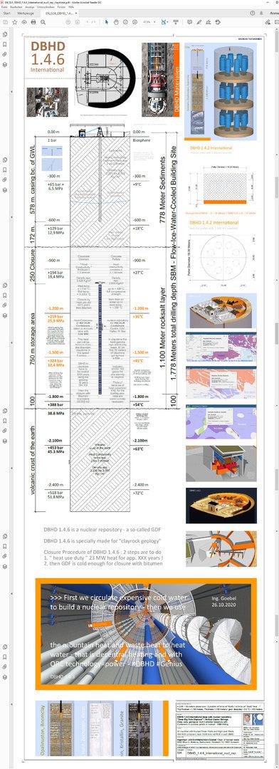 Technische Zeichnung DBHD 1.4.6 - Claystone, Clayrock geologies
