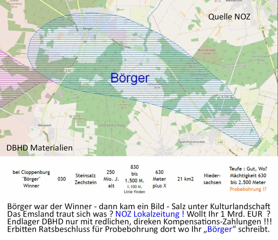 >>> Amazing-the German winner in geology shows himself volunterly !!! - >>> Unglaublich - der Deutsche Gewinner in Geology zeigt sich freiwillig - #Börger #Freiwillig #Rocksalt #GDF #Location #ProbeDrilling - https://lnkd.in/dCW9RM5
