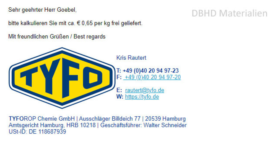 Angebot für Massen-Abnahme von CalciumChlorid Kühlmittel für DBHD Baustellen