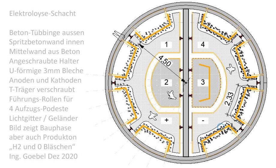 >>> Floorplan 113_sqm_Construction_Elektrolysis-Shaft-Location_Ing_Goebel - #WaterElectrolysis #Shaft #Mass #Production