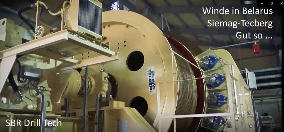 >>> Winde und Seiltrommel auf SBR Schachtbaustelle in Weissrussland von Siemag-Tecberg - Gut so - Wünsche weiterhin Glück auf - #Winde #Seiltrommel #SiemagTecberg #Schacht #Bergwerks #Ausrüster #Lieferant