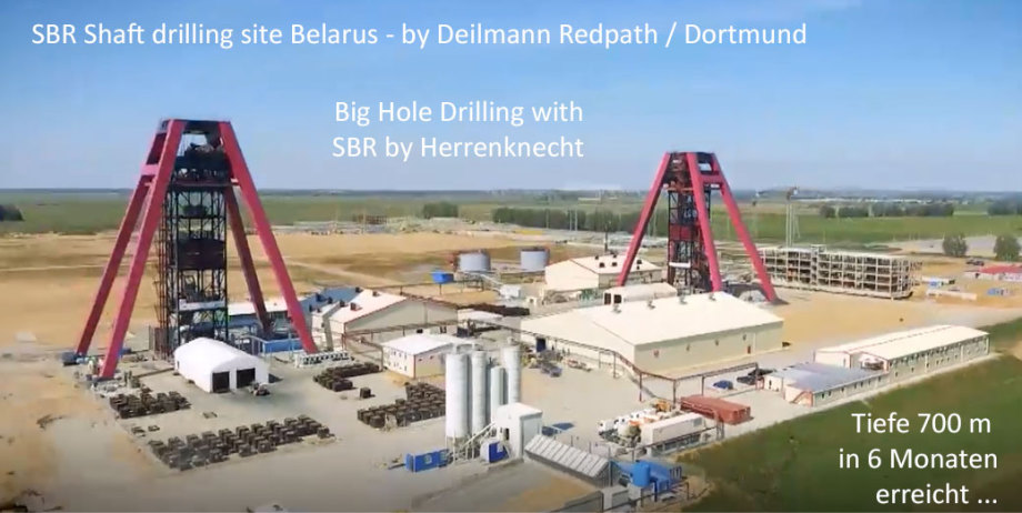 SBR Shaft Drilling Technology by Deilmann Redpath Dortmund Germany