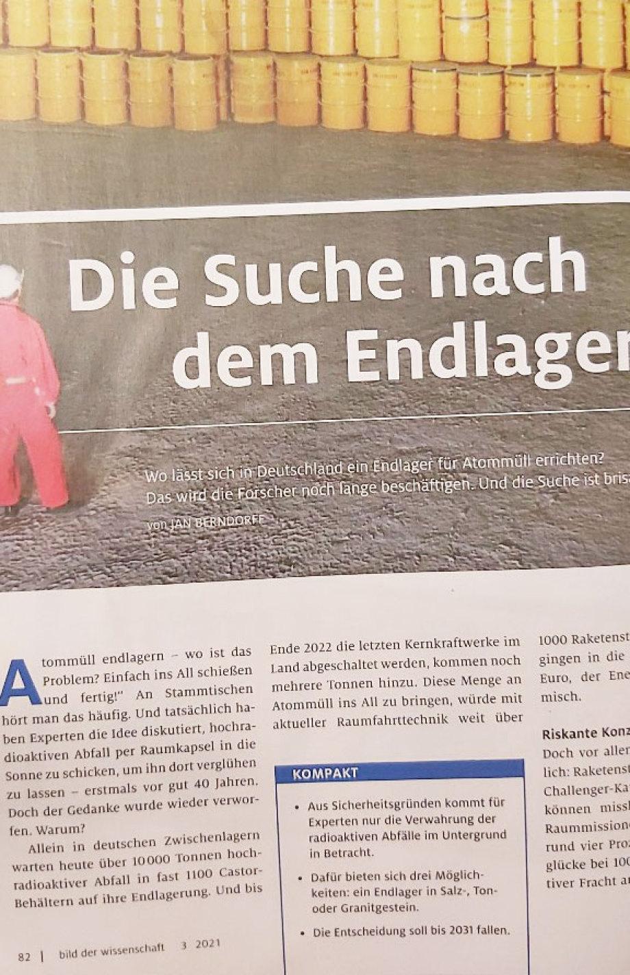 BILD - Zeitung - hier die popularwissenschaftliche Version