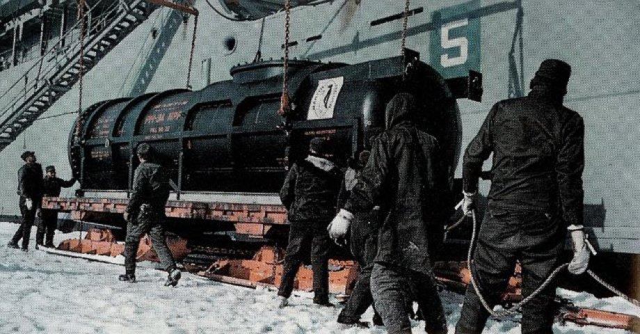 Kessel, Reaktorgefäss des 2MW SMR das damals die McMurdo Station in der Antarktis über Jahrzehnte mit Strom versorgt hat