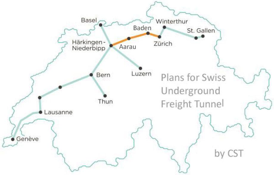"""Ergänzung um die Orts-Bezeichnungen """"Baden"""" und """"Aarau"""