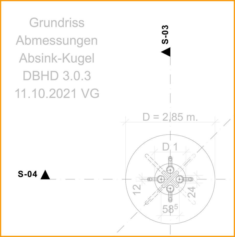 Bild_Grundriss-Absink-Schmelz-Kugel_DBHD3.0.3_Endlager_Ing_Goebel_Ing_von_Kamen