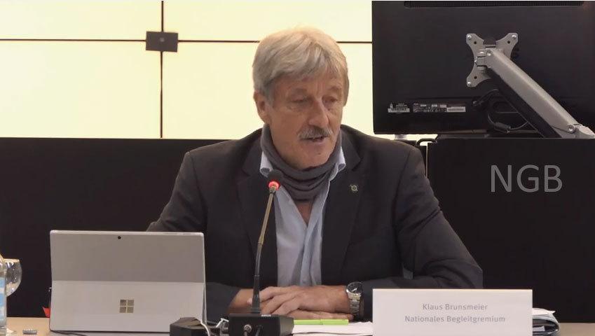 Klaus Brunsmeier BUND - ein kritischer Geist der immer gern noch viel mehr verlangt