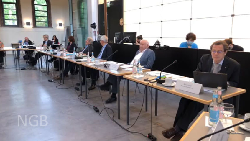 38. Sitzung NBG in Corona Zeiten Mitte Mai 2020
