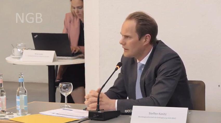 Steffen Kanitz BGE - war vor der BGE in der Kommission immer für Gorleben