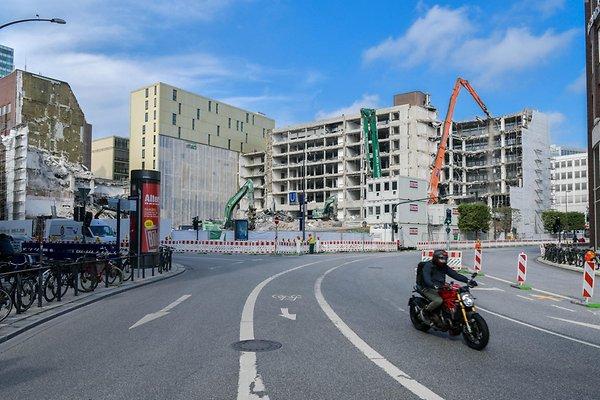 der Abriss in Hamburg ist bereits erfolgt