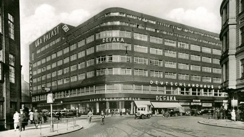 Historisches Foto des ehemaligen Deutschlandhauses