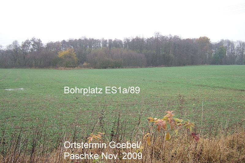 Tiefbohrung ES1a 1998 Teufe 7.343 m - Dort ist das Salz viel wenig und viel zu tief für DBHD