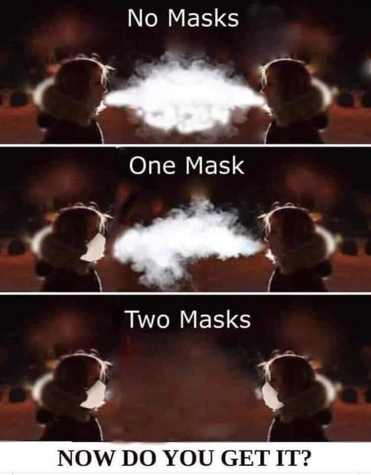 what a mask can do for you and for us