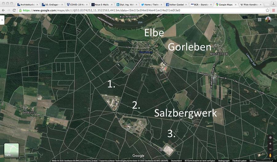 Standort nah an der Elbe und nur 8 Meter über Hochwassermarke