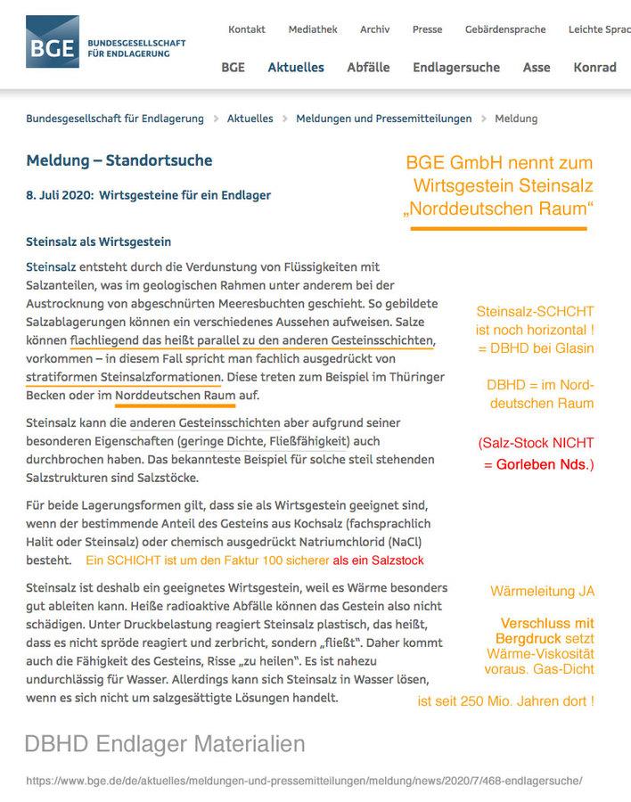 """>>> BGE also mention """"Norddeutscher Raum"""" for GDF Germany DBHD is located in """"Norddeutscher Raum"""" bei Glasin in Germany #DBHD #Norddeutschland #GDF #nuclearrepository"""