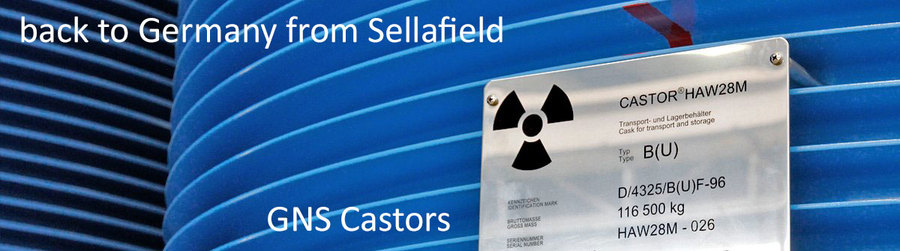 >>> 6 new Castors coming back from WAA Sellafield to Germany - transports ahead - keep calm - better ask for deeper repository - #GNS #Transport #NuclearWaste #Biblis #DBHD - get full information on https://lnkd.in/dz2TFME