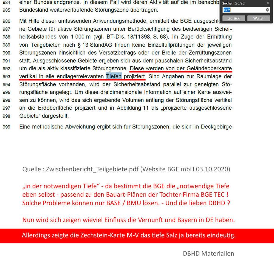 >>> STRAF-ANZEIGE gegen die BGE mbH - wegen massivem Verstoß gegen das Standort-Auswahl-Gesetz - § 266 StGB - #Strafanzeige #BGE #PflichtVerletzung #Untreue #ProfitGier #Teilgebiete #Unvollständig