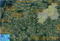 Standorte rund um Glasin - DBHD Endlager Standorte im Satellitenbild