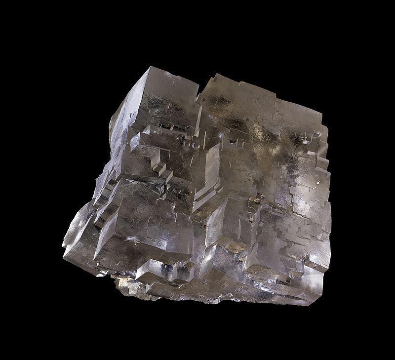 Steinsalz freigewaschen - Bild DBHD Endlager Entwicklung