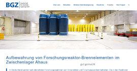 Gut gemacht - die BGZ thematisiert die Lagerung von Forschungs-Abfällen