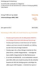 Antrag 003 von Fachkonferenz-Teilnehmer Volker Goebel Bürger Dipl.-Ing. Arch.